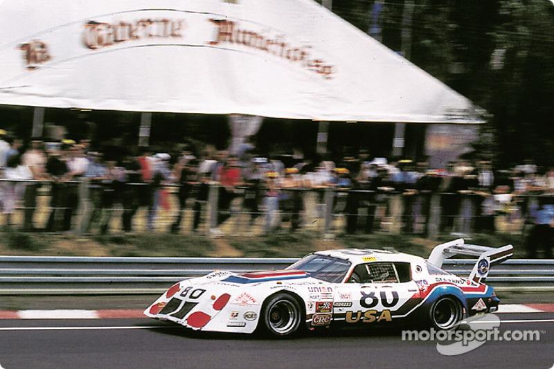80 Stratagraph Chevrolet Camaro Richard Brooks Hershel Mcgriff At 24 Hours Of Le Mans