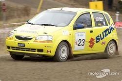 #23 - William Bacon and Peter Watt, 2004 Suzuki Swift, P-2