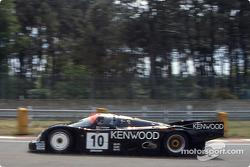 #10 Porsche Kremer Racing Porsche 962C: Sarel van der Merwe, Jo Gartner, Kunimitsu Takahashi
