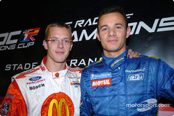 Sébastien Bourdais and Stephane Sarrazin