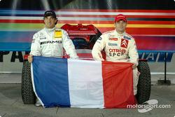 Team France 1: Jean Alesi and Sébastien Loeb