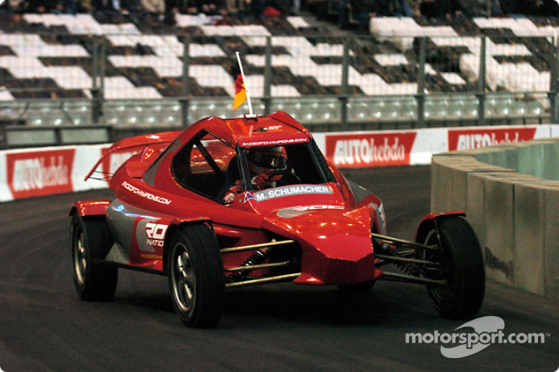 Quarter-final: Michael Schumacher