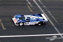 #34 Equipe Alméras Frères Porsche 962C: Jacques Alméras, Jean-Marie Alméras, Romain Iannetta