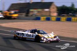 Silk Cut Jaguar Jaguar XJR-9 LM : Davy Jones, Derek Daly, Jeff Kline