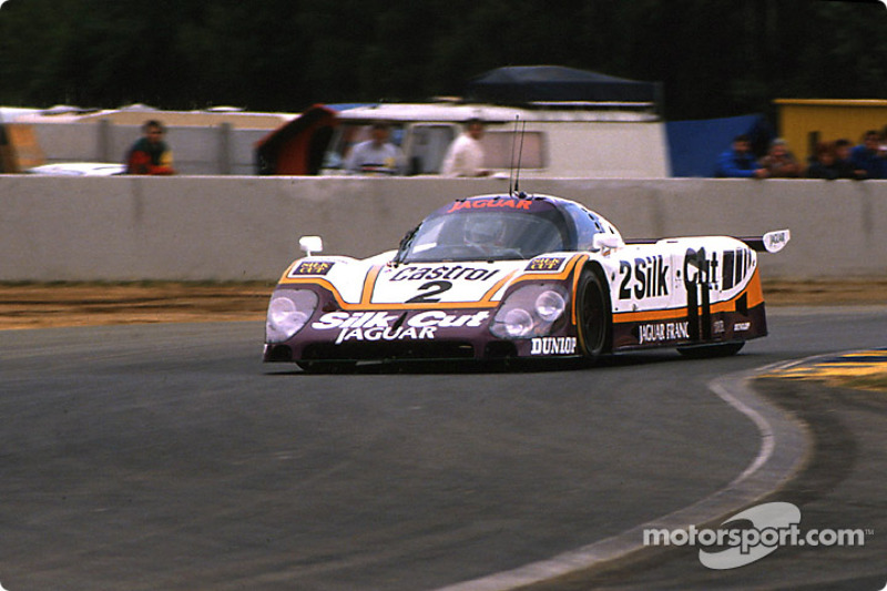 Silk Cut Jaguar Jaguar XJR-9 LM : John Nielsen, Andy Wallace, Price Cobb