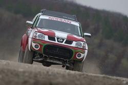 Zhou Yong and Denis Schurger test the Nissan Paladin