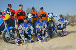 KTM team presentation: Red Bull USA KTM riders Chris Blais, Scot Harden and Kellon Walch