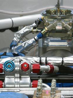 Close-up of an engine