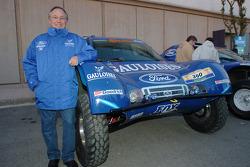 Jean-Louis Schlesser with his Schlesser-Ford Raid