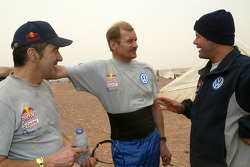 Bruno Saby, Juha Kankkunen and Robby Gordon