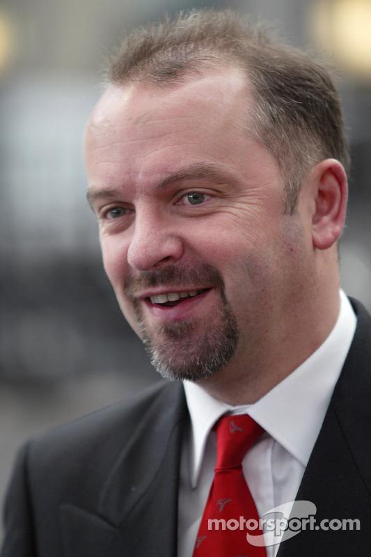 Mike Gascoyne, Teknik Direktörü Chassis