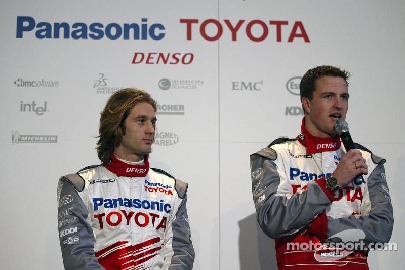 Jarno Trulli y Ralf Schumacher