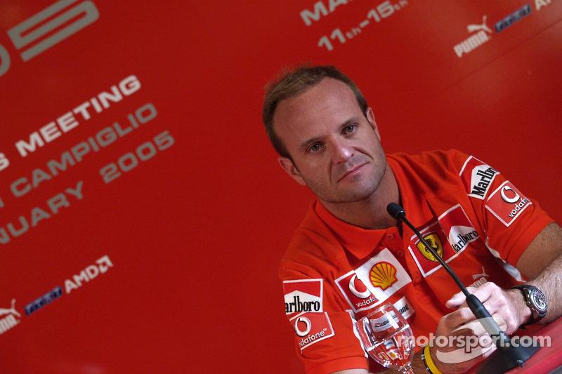 Conferencia de prensa: Rubens Barrichello