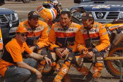 Jordi Arcarons, Marc Coma, Giovanni Sala and Isidre Esteve Pujol