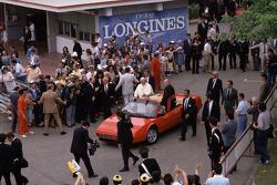 John Paul II Pope visit Ferrari 1988