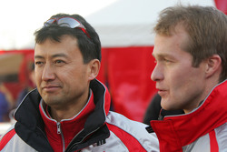 Isao Torii and Harri Rovanpera