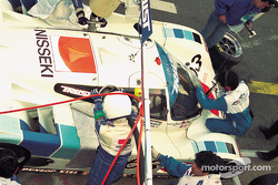 #63 Trust Racing Porsche 962C:  George Fouché, Steven Andskar, Shunji Kasuya