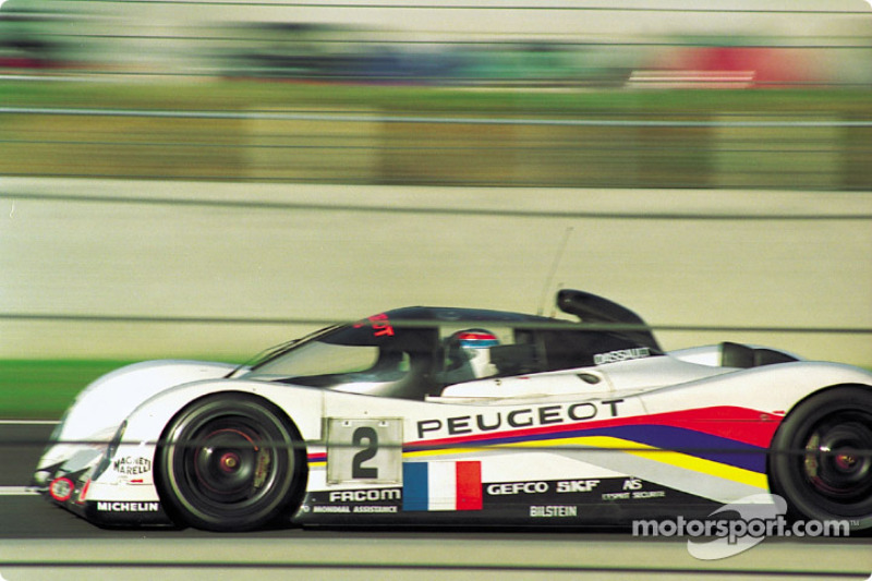 Peugeot Talbot Sport Peugeot 905C : Philippe Alliot, Mauro Baldi, Jean-Pierre Jabouille