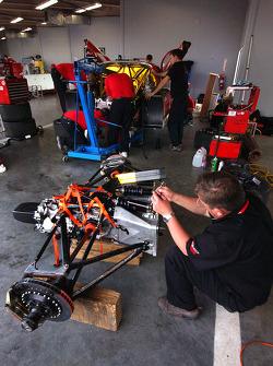 Busy in the CITGO - Howard - Boss Motorsports garage
