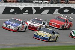 Mike Skinner, Ken Schrader, Dale Earnhardt Jr. and Greg Sacks