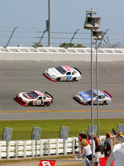 Dale Earnhardt Jr., Kevin Lepage and Mike Skinner