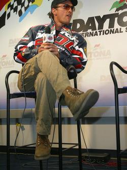 Press conference: Grand Marshal Matthew McConaughey