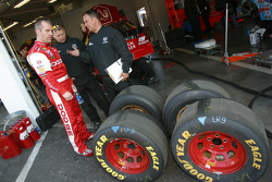 Jeremy Mayfield discusses tires