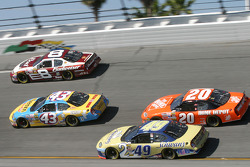 Dale Earnhardt Jr., Jeff Green, Ken Schrader and Tony Stewart