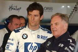 Mark Webber and Patrick Head