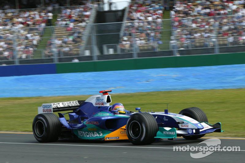 2005: Jacques Villeneuve, Sauber-Petronas C24