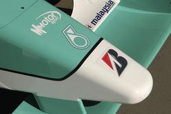 Detail of the DAMS GP2 car