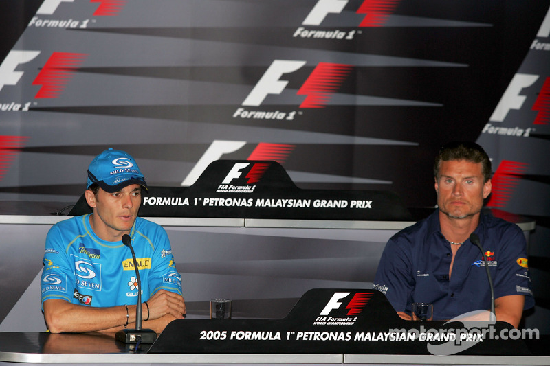 Conferencia de prensa FIA jueves: Giancarlo Fisichella y David Coulthard