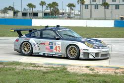 #43 BAM! Porsche 911 GT3 RSR: Tony Burgess, Leo Hindery, Martin Jensen