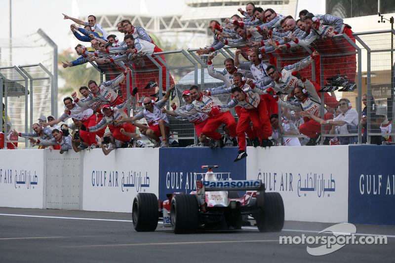 Jarno Trulli ocupa el segundo lugar