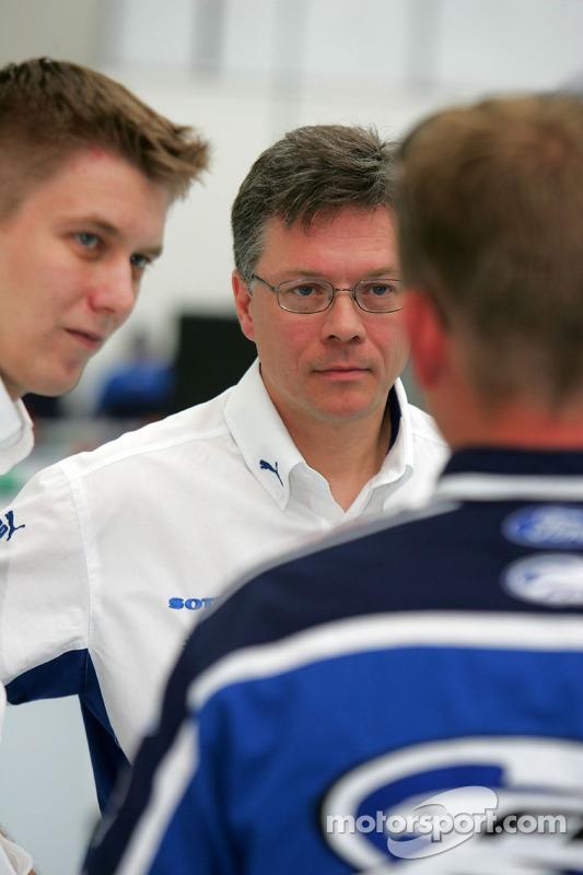 Toni Gardemeister and Jakke Honkanen chat with Greg Ritter