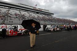 Rain delay during qualifying