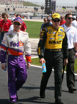 Jason Leffler and Matt Kenseth