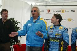 Flavio Briatore and Giancarlo Fisichella