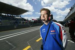 Suzuki team manager Paul Denning