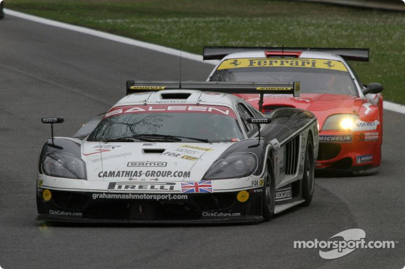 #7 Graham Nash Motorsport Saleen S7 R: Joel Camathias, Paolo Ruberti