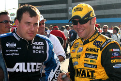 Ryan Newman y Matt Kenseth