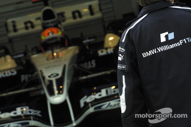 Area de pits de Williams-BMW