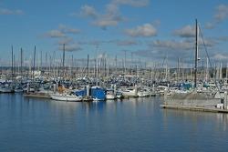 Fisherman's Wharf over beautiful Monterey Bay
