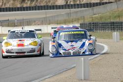 #04 Sigalsport Porsche GT3 Cup: Gene Sigal, Matthew Alhadeff, #66 Krohn Racing/ TRG Pontiac Riley: Jorg Bergmeister, Max Papis