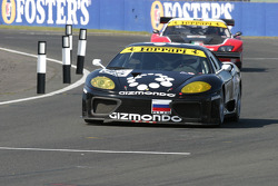 #85 Cirtek Motorsport Ferrari 360 Modena: Stephen Eriksson, Joe Macari
