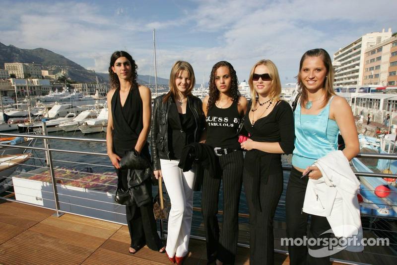 The Red Bull girls