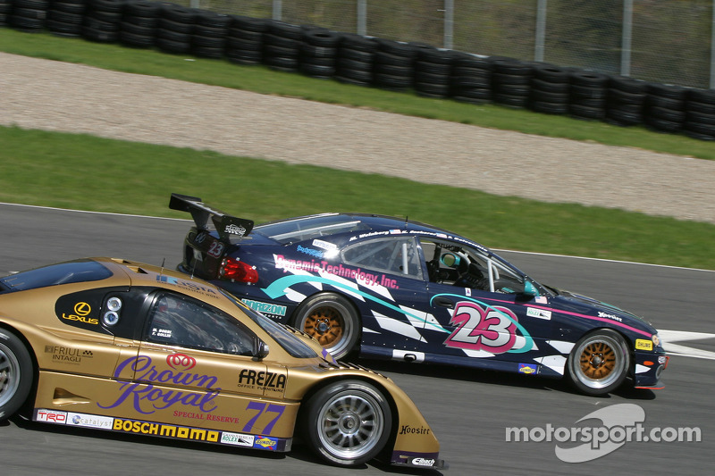 Horizon Motorsports LLC Pontiac GTO : Kris Szekeres, Mike Weinberg, Frank Del Vecchio; Doran Racing Lexus Doran : Fabrizio Gollin, Matteo Bobbi