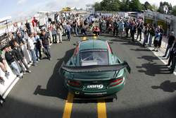 A lot of attention for the Aston Martin DBR9