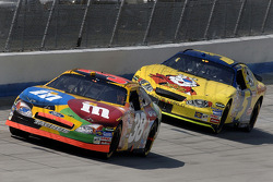 Elliott Sadler and Kyle Busch