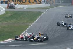 Ralf Schumacher and David Coulthard